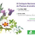 III Colóquio Nacional de Plantas Aromáticas e Medicinais