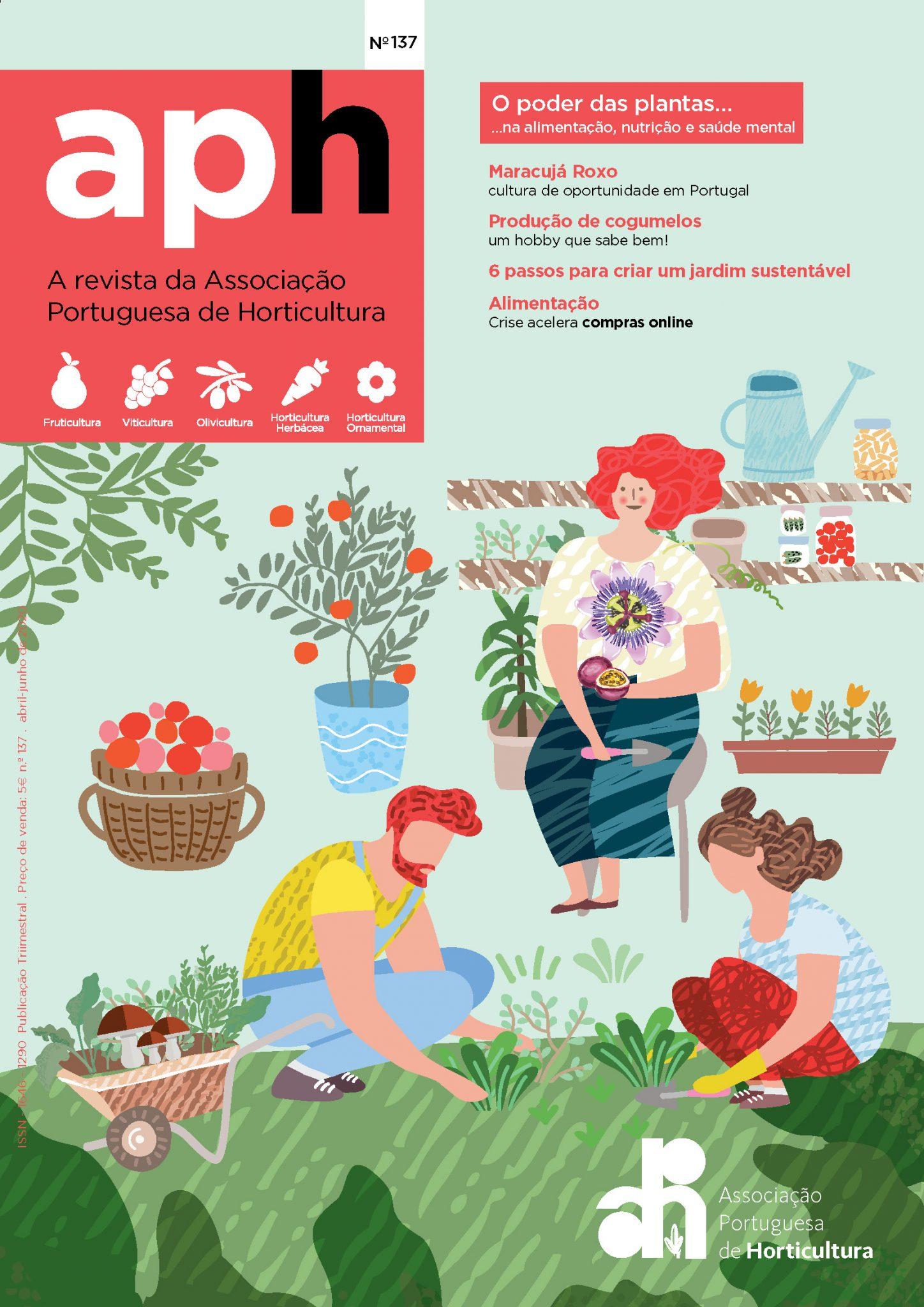 Revista da APH explora o poder das plantas na alimentação, nutrição e saúde mental