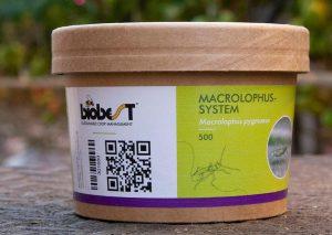 Nova embalagem Macrolophus-System
